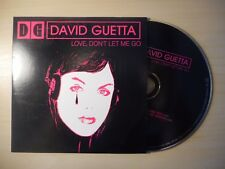 DAVID GUETTA : LOVE DON'T LET ME GO [ CD SINGLE PROMO ]