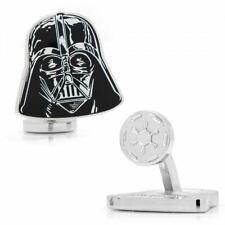 Star Wars Darth Vader Helm Emaille Manschettenknöpfe - Verpackt Disney Hochzeit