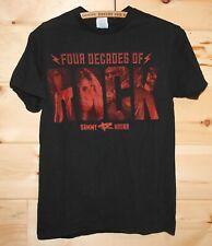 Sammy Hagar Four Decades Of Rock Band Concert Tour T-Shirt Size Small +