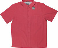 Quiksilver Mens Waterman Collection Centinela 4 SS Shirt - Cardinal Red