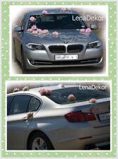 Hochzeit Auto Dekoration Blumen Band Schleife Abschlussball Limousine Mariage