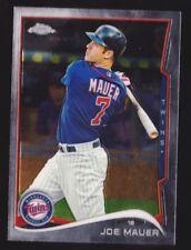 2014 Topps Chrome #144 Joe Mauer - NM-MT