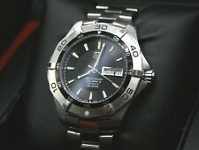 Tag Heuer Aquaracer Calibre 5 Stainless Steel Automatic Watch WAF2010 BOX PAPERS