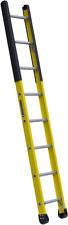Louisville Ladder Fe8908 Fiberglass Manhole Ladder 375 Pound Duty Rating