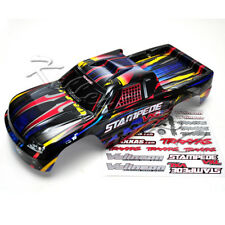 NEW Traxxas Stampede Body Rock n Roll Painted Black Red Blue XL5 VXL 3617 3615