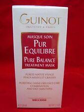 GUINOT Pure Balance Treatment Mask - 50 mL - NEW in box - purify & nourish