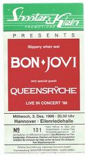 Bon Jovi In Concert 1986 Org. biglietto concerto/carta/biglietto