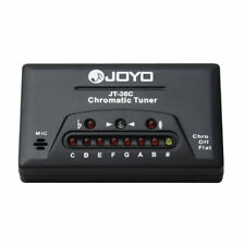Joyo Chromatic Tuner Guitar Bass Violin Ukulele 8080J RRP 9.99
