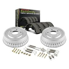 Power Stop Front /& Rear K15104DK Performance Pad Drum and Shoe Kits Rotor