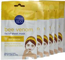 Miss Spa Bee Venom Facial Sheet Mask 0.88oz Each (6 Pack)