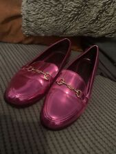 Topshop Metallpink Pink Loafers Size 39 / 6