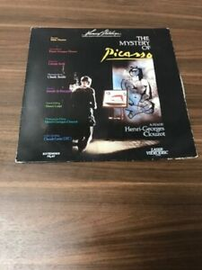 The Mystery Of Picasso A Film By Henri-Georges Clouzot On Laser Disc E37