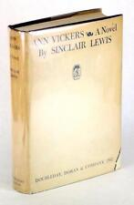 SINCLAIR LEWIS FIRST EDITION 1933 ANN VICKERS HC w/DJ SEXUAL SOCIAL REFORM