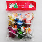 Xmas Trees Hanging Snowman Bear Santa Claus Ball Christmas Ornaments Home Decor