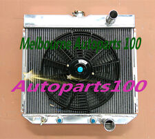 Aluminum Radiator+one fan for 1963-1969 FORD FAIRLANE and 1967-1969 FORD MUSTANG