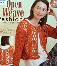 Crochet  Open Weave Fashions  Patterns From Annie's