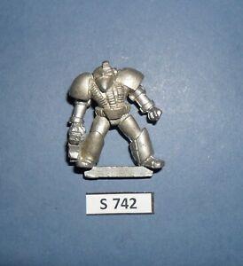 Warhammer 40K Metal ROGUE TRADER UNRELEASED MK 6 VI MARK SIX SPACE MARINE S 742