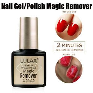 Magic Nail UV Gel Polish Remover Soak Off Base Matte Top Coat Nail Art Cleaning