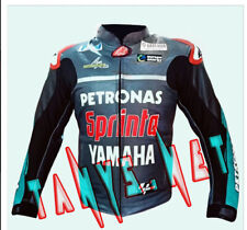 """FABIO QUARTARARO PETRONAS YAMAHA"" MOTOGP LEATHER RACING 2019 JACKET COWHIDE"