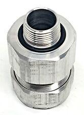 "OZ-GEDNEY JMC-75-121 3/4"" Aluminum Cable Conn. Jkt 0.880-1.210 Armor 0.800-1.110"