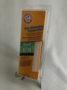 Arm & Hammer Odor Eliminating Vacuum Filter Bissell 8/14 (NEW)