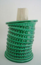 Vintage Franor Royale Ceramic Decanter Candle Stick Green