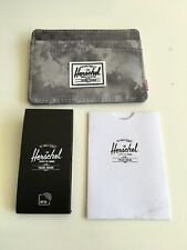 New Herschel Supply Men's Street Style Card Holder Wallet RFID Protect Cloud