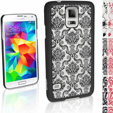 Cover e custodie nero Per Samsung Galaxy S5 con un motivo, stampa per cellulari e palmari