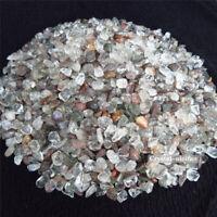 1/2lb Natraul Green Chlorite Ghost Crystal Clear Quartz Rutilated Phantom Reiki