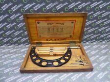 "USED Starrett #224 Set B Micrometer Caliper 6""-9"" Range"