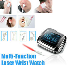 LASTEK Laser Therapy Wrist Watch For Hypertension Deafness Oral Ulcer Treatment