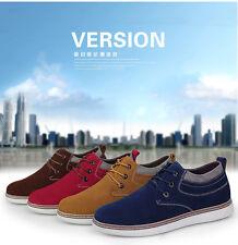 Men Suede Increasing 7cm Sneaker Sporting Casual Elevator Casual Shoes