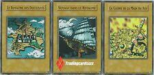"♦Yu-Gi-Oh!♦ Lot de 3 cartes ""Le Royaume des Duellistes"" : YGLD -VF/ULTRA RARE-"