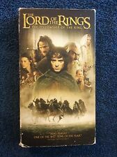 The Lord of the Rings: The Fellowship of the Ring (VHS, 2002) PG-13 CC, 178 min