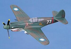 P-40B Tomahawk FLYING TIGERS Hell's Angel Squadron Hawk Model Aircraft WWII