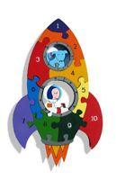 Fusée 1-10 Nombre Puzzle - Gros, Brillant & Éducatif - 29x17.5cms