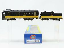 HO Scale Athearn 93802 ARR Alaska Railroad Operating Rotary Snow Plow & Tender 3