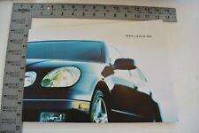 1999 Lexus GS300 GS400 GS 50-page Original Car Sales Brochure Catalog