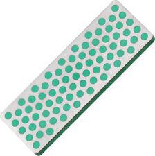 "DMT Mini Diamond Whetstone W7E Measures 2 3/4"" x 1"". Green, extra fine grit 1200"