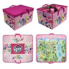 2 in 1 My Little Pony Equestria Playmat Play Mat Folding Storage Toy Boy Girls
