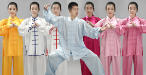 Tai Chi silk satin clothing Kung Fu martial arts uniform Wing Chun jacket jacket