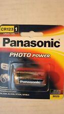 Panasonic CR-123APA/2B Photo Power CR123 Lithium Batteries, (Gold)