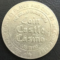 $1 SLOT Gaming TOKEN - Coin Castle CASINO - Las Vegas NV Nevada
