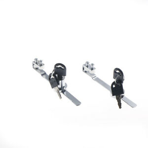 Durable Cabinet Glass Door Lock&Keys For Reptile Showcase Display Case New VU