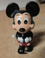 Mickey Mouse Wind Up Toy Walking 1977 Walt Disney Productions Tomy Toys Works