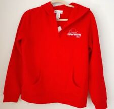 Oprah Winfrey Show Official Oprah Boutique Red HoodieSweatshirt Stretch Fleece M