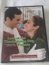 LOVE at the THANKSGIVING DAY PARADE (DVD, 2013) Hallmark Channel, RARE OOP, NEW