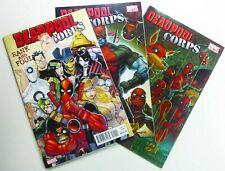 Marvel DEADPOOL CORPS (2010) #2-3 + RANK & FOUL #1 LOT Ships FREE!