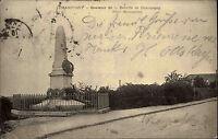 Champigny France 1903 Souvenir de la Bataille Schlacht Battle Denkmal gelaufen
