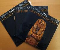 RB 16021-3 Verdi Aida Toscanini 3xLP RCA NBC Broadcast 1949 EXCELLENT